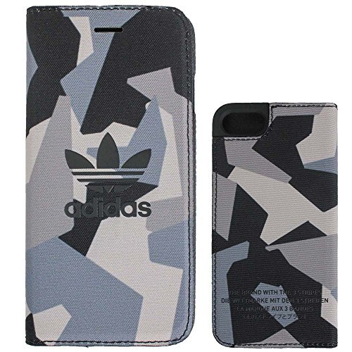 adidas アディダス iPhone7 ケース 手帳型 ブランド スマホケース アイホン7 ケース...