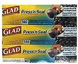 【グラッド】 GLAD PRESS'N SEAL/ プレス&シール(プレスンシール)30cmX43.4m×3個