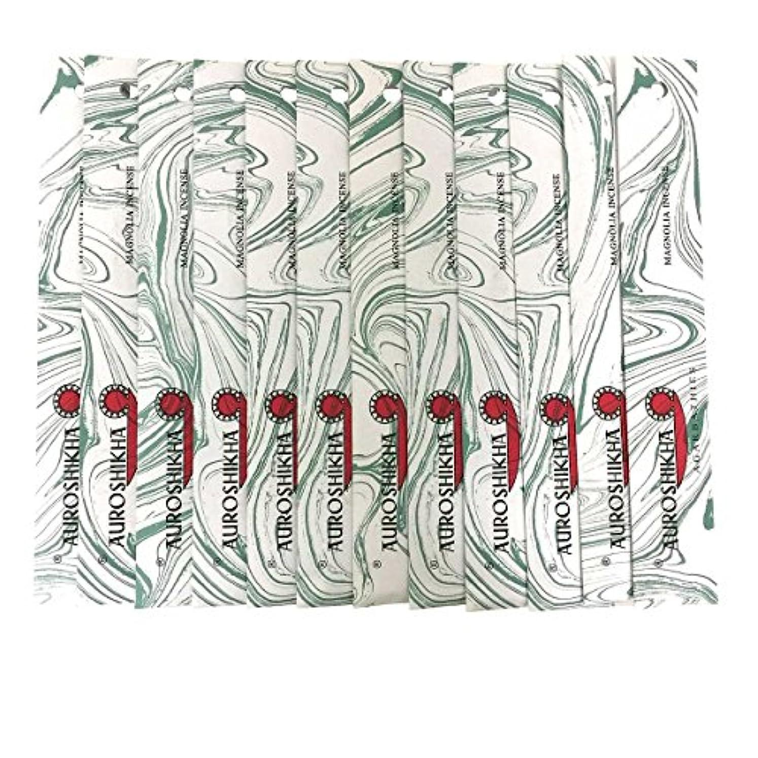 手のひら症候群植物のAUROSHIKHA オウロシカ(MAGNOLIAマグノリア12個セット) マーブルパッケージスティック 送料無料