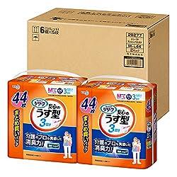 【ケース販売】【無地箱でお届け】リリーフ パンツタイプ 安心のうす型 M~L 44枚×2パック【ADL区分:一人で歩ける方】