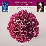 ハイドン : 交響曲 第29番 & 第98番 | モーツァルト : コンサート・アリア (Haydn, Mozart ''The London set, at last!'' / Orchestra Libera Classica | Hidemi Suzuki | Saki Nakae) [CD] [Live Recording] [日本語帯・解説・歌詞対訳付]
