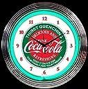 コカ コーラ ネオン クロック レトロ 壁掛時計 並行輸入品
