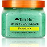 Tree Hut Shea Sugar Scrub Coconut Lime, 18oz, Ultra Hydrating and Exfoliating Scrub for Nourishing Essential Body Care (Pack