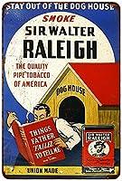 煙Walter RaleighタバコVintage Reproduction Sign 8x 128122837