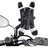 HASAGEI バイク スマホ ホルダー 自転車用 携帯ホルダー 2020最新改良 自動ロック 片手操作 落下防止 振れ止め 360°回転可能 スマホホルダー GPSナビ iPhone 11 Pro max XS MAX XR XS X 8 7 6