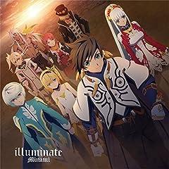 Minami「illuminate」の歌詞を収録したCDジャケット画像