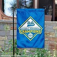 UCLA Bruins 2013Collegeワールドシリーズガーデンフラグとヤードバナー