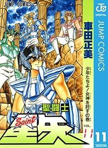 聖闘士星矢 11巻 表紙画像