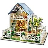 1stモール LEDライト 付属 西洋風 ドールハウス 組み立て キット 自動 照明 点灯 音声感知 人形 おもちゃ ホビー ミニチュア 小物 インテリア ST-FRANHOUSE