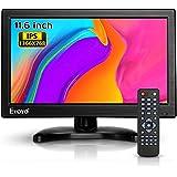 Eyoyo12インチ モニター 小型 モニター IPS 全視野 HDMIモニター 高画質1366x768 HD CCTVモニター サブ ディスプレイ USB HDMI VGA AV BNC接続 防犯監視モニター スピーカー内蔵 リモコン付き 日本語取