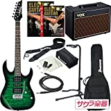 Ibanez アイバニーズ エレキギター GIO Ibanez GRX70QA/TEB ギター入門VOXアンプセット