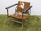 【一点物】 Le Corbusier (ル・コルビジェ) LC1 Sling Chair (スリングチェアー) / カウスキン(F)
