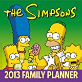 Official The Simpsons Family Planner 2013 Calendar