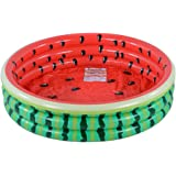 Kiddie Pool, Watermelon 3 Ring Inflatable Pool for Kids, Ideal Water Pool in Summer, 45 Inches Inflatable Swimming Pool, for