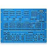 Behringer アナログシンセサイザー ブルーモデル セミモジュラー 8Uラックマウント 機械式スプリングリバーブ 2600 BLUE MARVIN