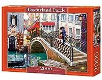 """Castorland C200559 """"venice Bridge"""" Jigsaw Puzzle (2000-piece)"""