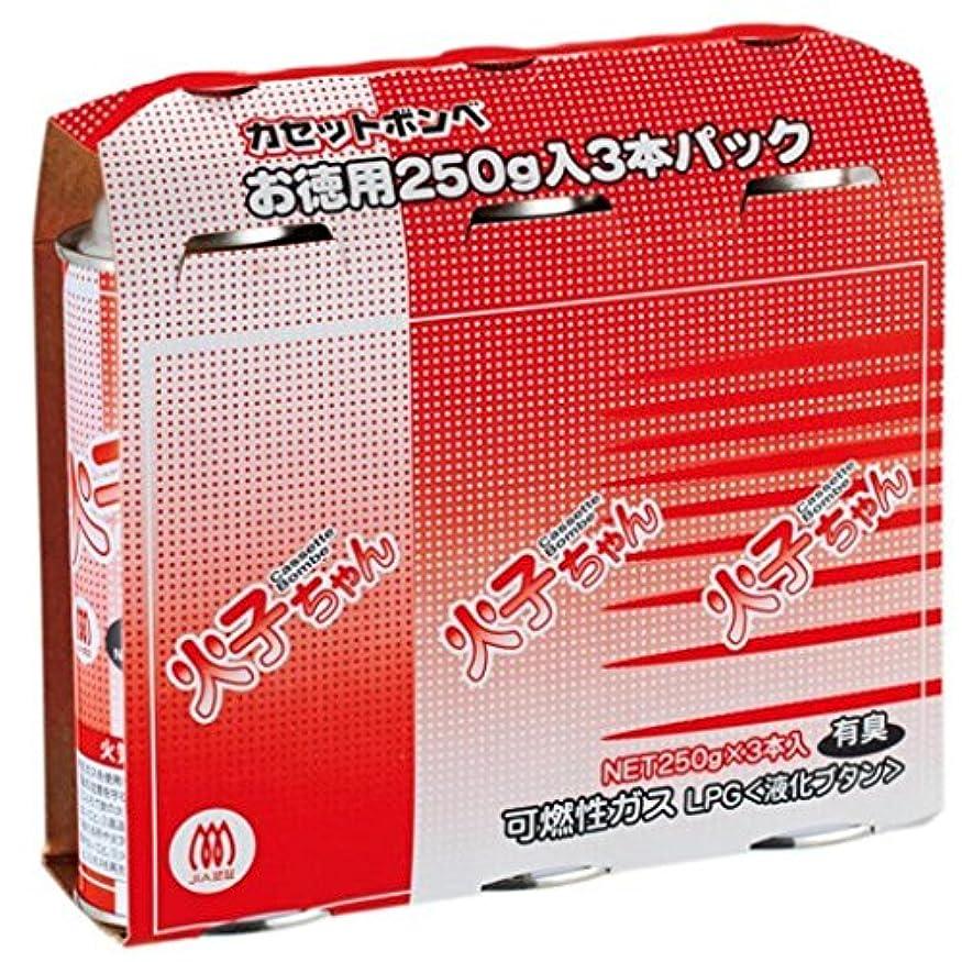 一回名義でソフィー(まとめ買い)TTS カセットボンベ 火子ちゃん 3本入 【×8セット】