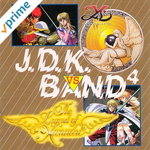 イースIV vs 風の伝説ザナドゥ J.D.K. BAND 4