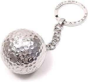 キーホルダー キーリング 実物大ゴルフボール ジョバンニ・ラスピーニ シルバー925