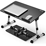 [Large Size] Besign Adjustable Latop Table, Portable Standing Bed Desk, Foldable Sofa Breakfast Tray, Notebook Computer Stand