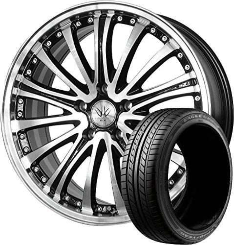 サマータイヤ・ホイール 1本セット 18インチ GOODYEAR(グッドイヤー)イーグル LS EXE 215/45R18 + ロクサーニ EX バイロンアベンジャー