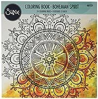 Sizzix 661531 Coloring Book-Bohemian Spirit by Lindsey Serata