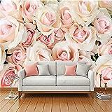Wapel ?カスタム写真の壁紙の壁紙ウォールステッカー暖かいロマンチックなバラの壁ソファーベッドサイド・モニタの背景の壁 430 Cmx 300 cm