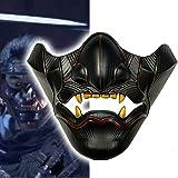 Ghost of Tsushima Mask Jin Sakai Gosaku Samurai Knight Legion Resin Full Face Mask Cosplay Halloween Party Props