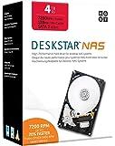 HGST Deskstar NAS 4TB パッケージ版 3.5インチ 7,200rpm 128MB SATA 6Gb/s 【3年保証】HDD 0S04005