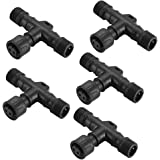 Pack of 5 FVTLED Replacement 2Pin T-Connector Waterproof for Single Color LED Deck Light Kit (5pcs)