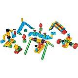 Hape 760011 Polym Adventure 遊び場キット 組み立てブロック マルチカラー