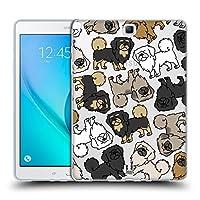 Head Case Designs チベタン・スパニエル ドッグブリード・パターン 13 Samsung Galaxy Tab A 9.7 専用ソフトジェルケース