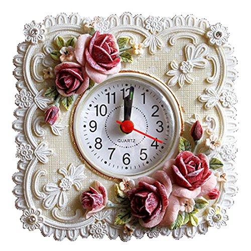 ロココ調 エレガント 置時計 インテリア 姫系 ヨーロッパ 薔・・・