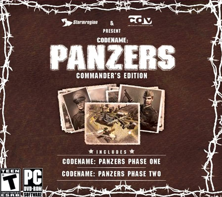 艶埋めるスペルCodename Panzers: Commanders Edition (Jewel Case) (輸入版)