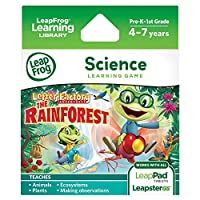 LeapFrog Learning Game Letter Factory Adventures: The Rainforest (for LeapPad tablets and LeapsterGS) [並行輸入品]