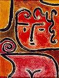 Paul Kleeジクレープリント アート紙 アートワーク 画像 ポスター 複製(ホット・ブラッド・ガール)