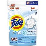 Tide Pods Free & Gentle Liquid Laundry Detergent Pacs, 35 Count