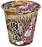 エースコック タテロング 厚切太麺 濃いつゆ肉そば 93g
