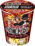 明星 チャルメラカップ ワンピース レッドシーフード味 70g×12個