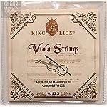 ビオラ弦 キングライオン King Lion ヴィオラ 4弦セット(C, G, D, A)