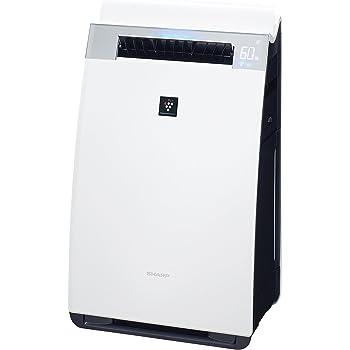 シャープ 加湿空気清浄機 プレミアムモデル プラズマクラスター25000 21畳/空気清浄 34畳 ホワイト KI-GX75-W