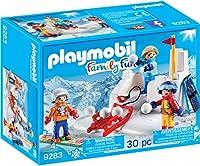 Playmobil FamilyFun Snowball Fight / プレイモービルFamilyFun雪合戦