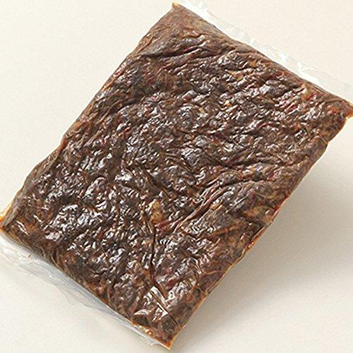 お徳用。フレッシュなえぞ鹿肉を伝統の作法でじっくり煮込んだしぐれ煮 北海道えぞ鹿肉しぐれ煮 (ピリ辛味)1kg