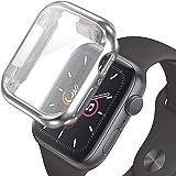 Apple Watch アップルウォッチ フルカバーケース シルバー Silver 42mm / Series3 Series2 ケース カバー 全面保護 耐衝撃