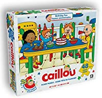 Caillou 48ピースFloorパズルmeasures 2ft x 3ft誕生日Fun