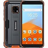 Blackview BV4900 SIMフリー スマートフォン本体 アウトドア Android 10 IP68 防水 防塵 耐衝撃 スマホ本体 5580mAhバッテリー 3GBのRAM + 32GBのROM 5.7インチ大画面 8MP+5MPカメラ