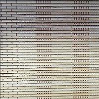 ZEMIN 日焼け止め ウッドブラインド バンブー ローラーブラインド ヴェネツィア シェード 内装/外装 カスタマイズ ナチュラル 炭化物 ハンドリフティング、 2色、 19サイズ (色 : #2, サイズ さいず : 140x150CM)