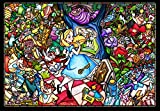 500ピース ジグソーパズル ふしぎの国のアリス ストーリーステンドグラス ぎゅっとシリーズ スモールピース 【ステンドアート】(25x36cm)