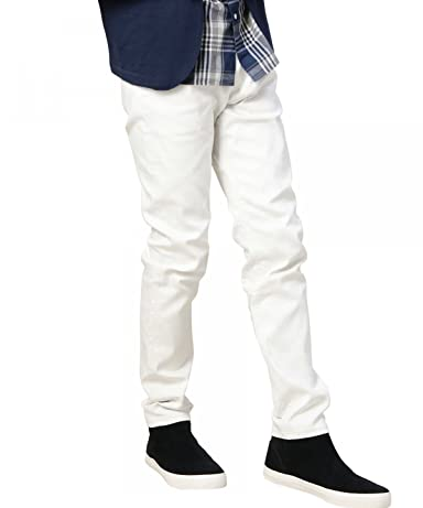 Drill 5 Pocket Pants 1214-219-6226: White