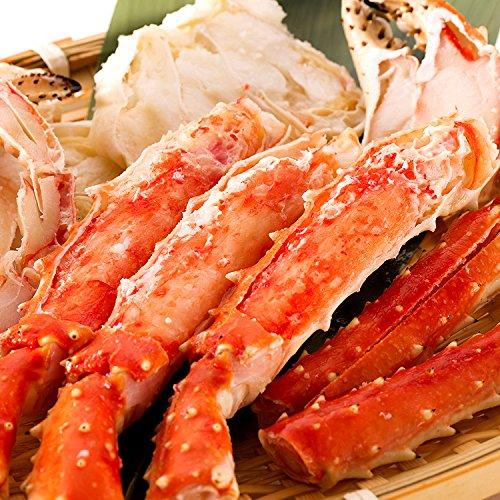 「先行予約」 早期割引 極上 タラバガニ 足 特大サイズ 天然 たらば蟹 約1kg 予約品 1月1日(水)到着